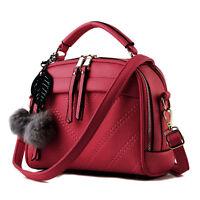 Fashion Women's PU Leather Tote Shoulder Messenger Ladies Handbag Hobo Bag Purse
