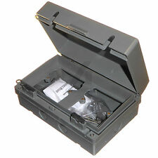 Outdoor 2 Compartment Box For 2 x 1 Gang Socket / Switch IP65 Weatherproof