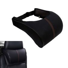1Pc Adjustable Headrest Pillow Leather Car Seat Head Neck Rest Cushion Bone Pad