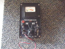 """Vintage Lafayette Radio Mod. KT86A Transistor - Diode Tester """" GREAT COLLECTIBLE"""