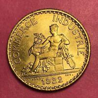 #421 - 1 franc 1922 CDC SUP/SPL QUALITE FACTURE