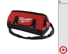 Milwaukee Heavy Duty 23 x 12 x 12 Inch Canvas Tool Bag 6 Pockets