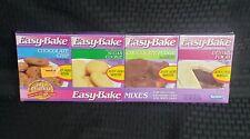 NOS Kenner Easy Bake Mixes 1990 Rare New