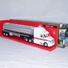 Camión silozug Escala 1 :3 2 Peterbilt 387 NUEVO BLANCO + PLATA