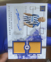 🔥2019-20 Panini Impeccable Aaron Mooy Dual Patch Auto Card #53/99 Brighton HOT