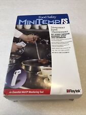 Raytek Minitemp Fs Noncontact Infrared Food Safety Thermometer New In Box