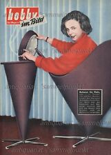 Verner Panton Heart Cone Chair + standascher-Original short report of 1962