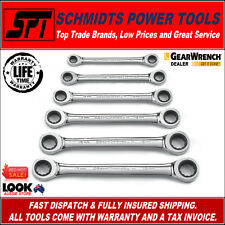 GEARWRENCH METRIC RATCHETING WRENCH SET 6 PCE 12 PT DOUBLE BOX SPANNER SET 9260