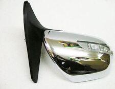 Door Mirror Chrome Manual L.E.D RH For Toyota Landcruiser KDJ120 3.0D D4D 02 On