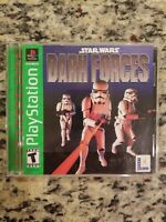 Star Wars: Dark Forces Sony PlayStation 1 PS1 Greatest Hits TESTED FREE S/H