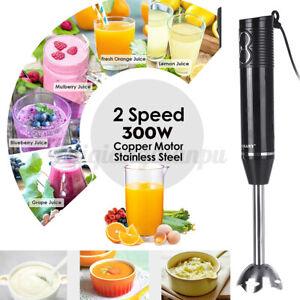 3in1 Electric Handheld Blender Food Mixer Juice Maker Egg Beater Stirrer  nb