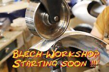 Blech Workshop vom 7. Bis 9. Februar 2019 - Grundlagen Dengeln & englisches Rad