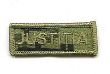 Obsolete Modern Canadian Army CADPAT JUSTITIA Title