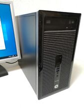 Nr.526 HP ProDesk Schnelle Office PC 2x 3,0GHz 250GB SSD 8GB Win.10 Computer DVD