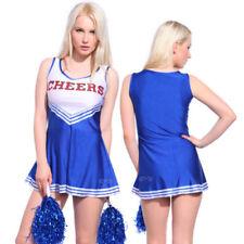 Gonne e minigonne da donna blu lunghezza lunghezza al ginocchio taglia XS