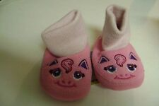 Infant Girl WesternChief Pink Pony Sock Shoes New