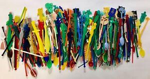 Vintage lot of Swizzle Sticks  Stirrers | Most Figural | 300+ Lot!