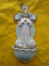 Alter Weihwasserkessel ............ Jesuskind mit Herz am Kreuz