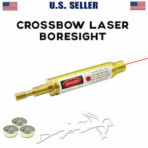 Archery Crossbow Laser Bore Sight / Bow Arrow Laser Boresight BATTERIES INCLUDED