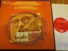 ASD 2511-12 Shostakovich/Kabalevsky/Shafran/Svetlanov 2 Lp Caja