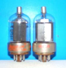 8298 RCA Westinghouse radio vintage amplifier vacuum tubes 2 valves tested 8298A