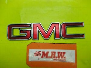 GMC EMBLEM LOGO SYMBOL LETTERS NAMEPLATE REAR BACK HATCH LIFTGATE for 08 ACADIA