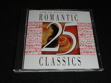 25 ROMANTIC CLASSICS CD (LIKE NEW)