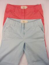 J Crew Classic Twill Chino Pants Lot Of 2 Bolth are Women's Size 6R   J-3