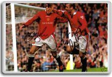 Eric Cantona, David Beckham – Manchester United Autographed Preprint Signed P...