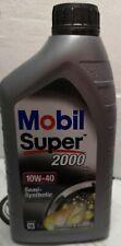 5 LITRI (1 lt x 5) olio motore MOBIL SUPER 2000 x1 10W-40 SEMI-SYNTHETIC