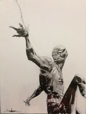 "Jae Lee - Spider-Man - ORIGINAL ART  ORIGINALZEICHNUNG - 9""x12"" Marvel"