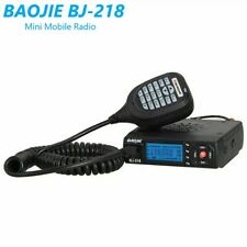 BJ-218 Mini Car Mobile Radio VHF/ UHF Dual-Band FM Transceiver 25W Walkie Talkie