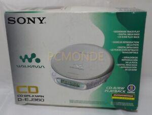 Sony DEJ360 Silver CD Walkman - Portable Compact Disc Player (D-EJ360/SD)