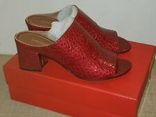 03be6c93394d Donald J Pliner No85 Silver Textured Metallic Wedges Size 8.5