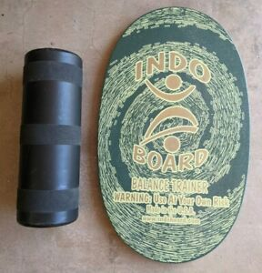 """Original INDO BOARD Balance Trainer with Roller 30"""" x 18"""" Fitness Yoga Skating"""