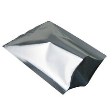 100 un. Bolsa de lámina de aluminio de Mylar sellador de vacío bolsa de paquete de almacenamiento de alimentos