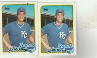 FREE SHIPPING-MINT-1989 Topps #430 Mark Gubicza Kansas City Royals +BONUS CARDS