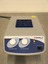 VWR Scientific Analog Heatblock 12621-104 Pre-owned Excellent Condition w/Block