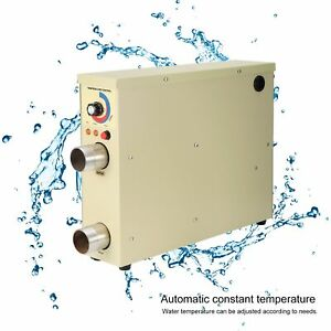 Pool Heater Temperature Controller Thermostat for Swimming Pool SPA Bathhub 220V