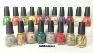 China Glaze Nail Polish SPECIALTY Collection CHOOSE Your Favorite Lacquer