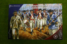 Perry Miniatures CONTINENTAL INFANTRY 1776-1783 American War of Independence ...