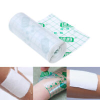 1X transparent waterproof adhesive wound dressing medical fixation tape-bandage#