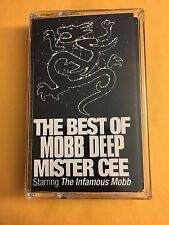 DJ Mister Cee The Best of Mobb Deep Euro Tape Kingz CASSETTE Mixtape CLASSIC