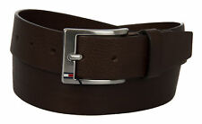Cintura uomo pelle belt TOMMY HILFIGER art. AM0AM01002 taglia 105 col. 902 MORO