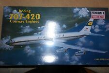 MINICRAFT 1:144 BOEING 707-420 CONWAY ENGINES  LUFTHANSA      14455