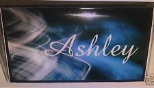 CHECKBOOK COVER PERSONALIZED BLUE AND WHITE