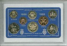 1986 Vintage Coin Set 32nd Birthday Birth Year Present Wedding Anniversary Gift