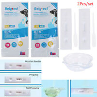 2Pcs Early Pregnancy Test Strip Card Predictor Fertility Stick AutomaticalQA