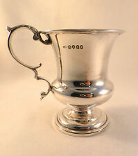 "Great Georgian English Sterling Cup Circa 1832 London-3 5/8""-Mono"