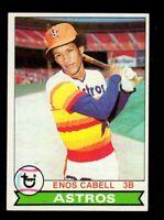 "1979 Topps #515 Enos Cabell Houston Astros Baseball Card ""mrp-collectibles"" NM"